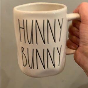 Rae Dunn new Hunny Bunny Double sided mug